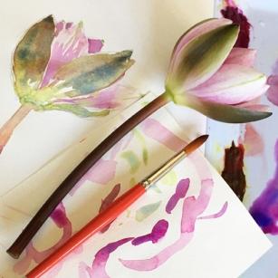 Painting Flowers website